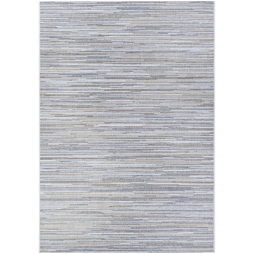 Monte Carlo Coastal Breeze Taupe and Champagne Rectangular: 2 Ft. x 3 Ft. 7 In. Indoor/Outdoor Rug