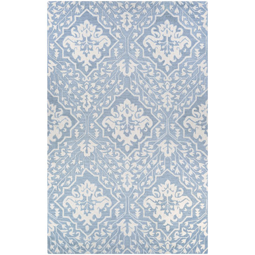 Couristan Crawford Contempo Garden Pewter Rectangular: 2 Ft. x 3 Ft. Rug