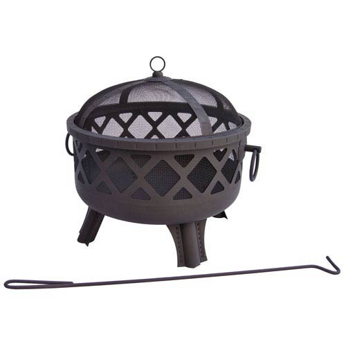 Landmann Garden Lights Sarasota Fire Pit - Black