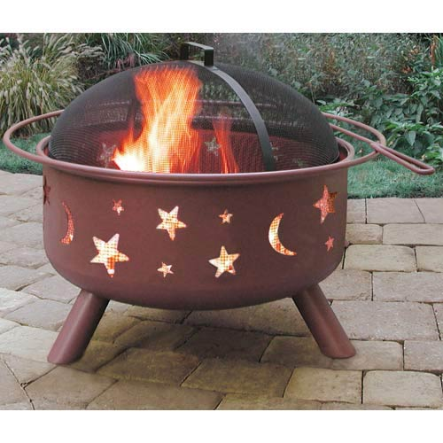 Big Sky Fire Pit - Stars and Moons