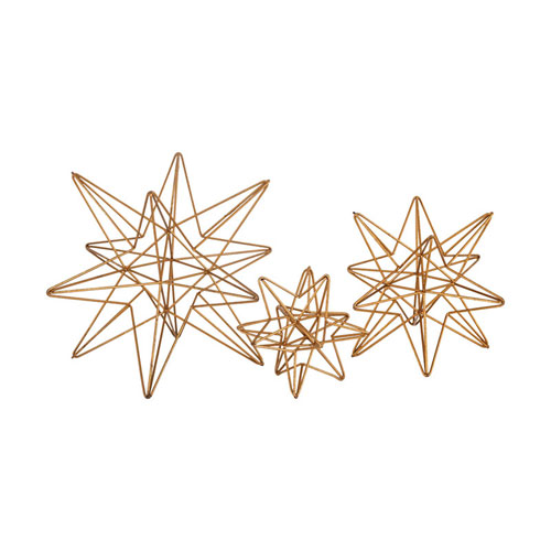 Astrid Gold Decorative Accessory, Set of Three