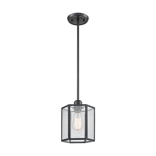 Spencer Oil Rubbed Bronze One-Light Mini Pendant
