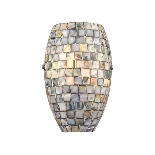 Capri Satin Nickel One-Light ADA Wall Sconce