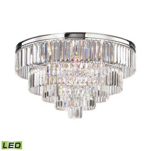 Elk Lighting Palacial Polished Chrome 31-Inch LED Flush Mount