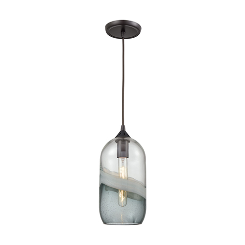 Sutter Creek Oil Rubbed Bronze One-Light Mini Pendant