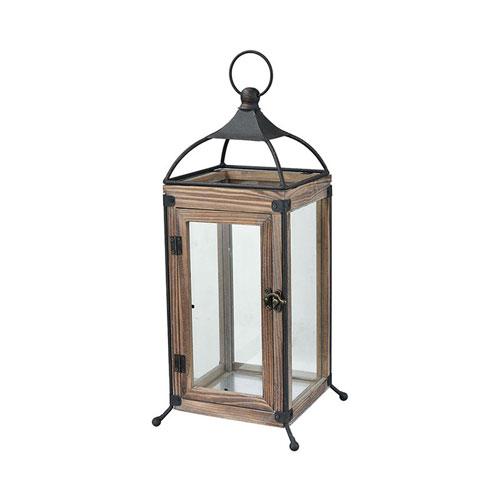 Olsen Rustic 13-Inch Outdoor Lantern