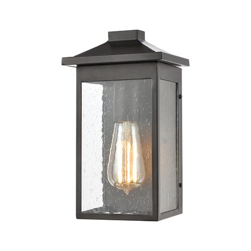 Lamplighter Matte Black One-Light Six-Inch Wall Sconce