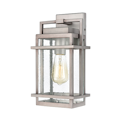 Breckenridge Weathered Zinc One-Light Seven-Inch Wall Sconce