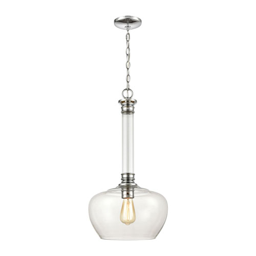 Glasgow Polished Chrome One-Light Pendant