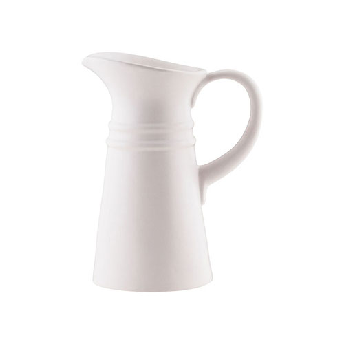 Pomeroy Country White Pitcher