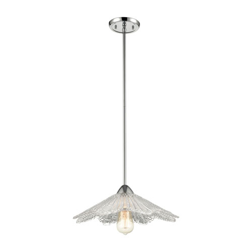 Radiance Polished Chrome One-Light Pendant