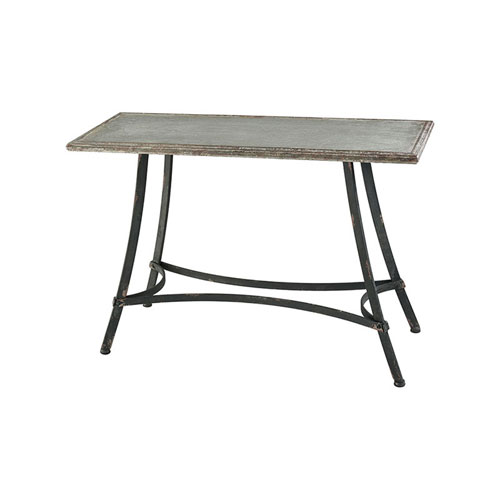 Rockwell Galvanized Console Table