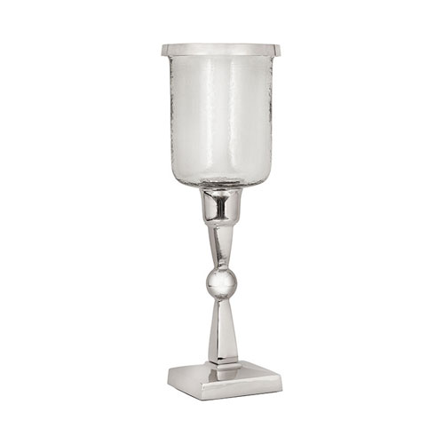 Cornell Metal and Glass Candle Holder