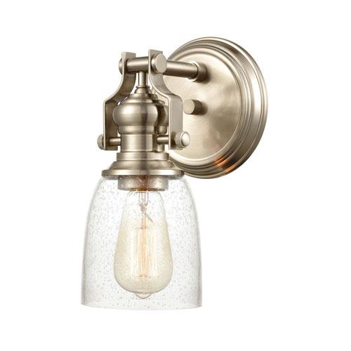 Chadwick Satin Nickel One-Light Bath Vanity