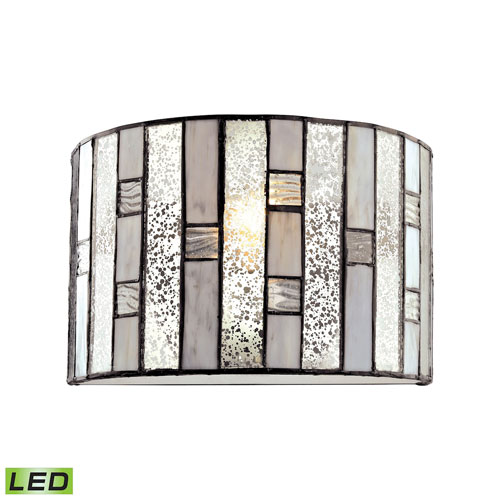 Ethan Tiffany Bronze LED Wall Sconce