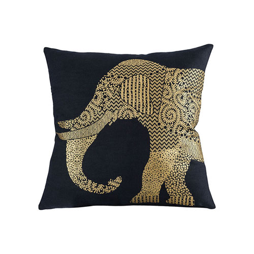 Bali Black Accent Pillow
