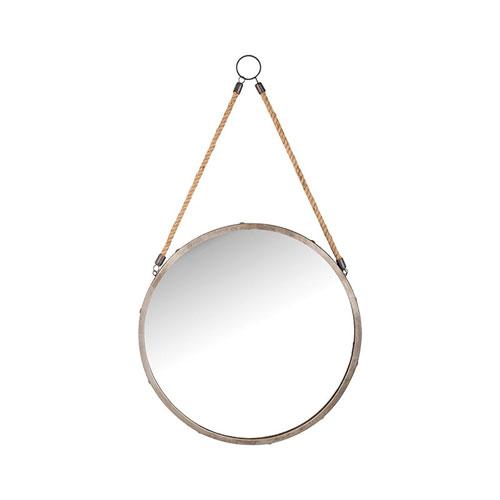 Bencrest Antique Zinc Wall Mirror
