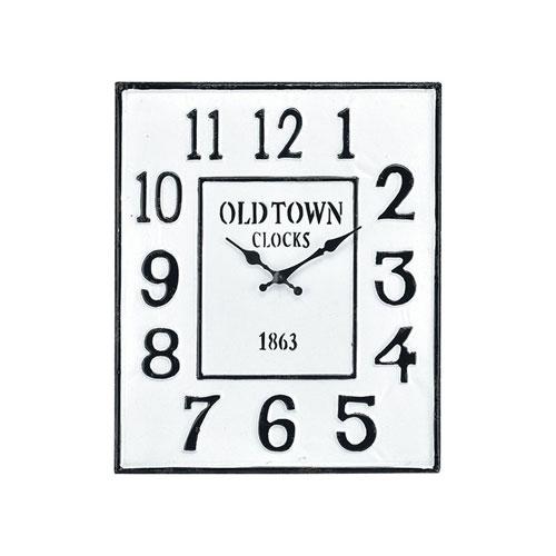 Freswick Colonial White Clock