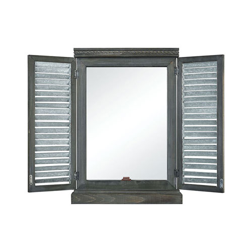 Avery Hill Galvanized Wall Mirror