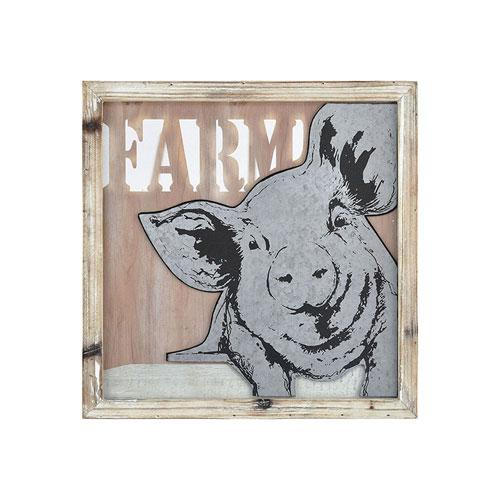 Some Pig Natural Wall Art