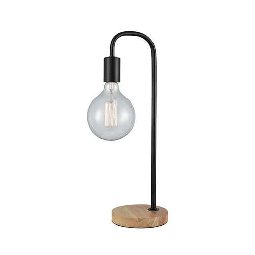 Archwell Black One-Light Table Lamp