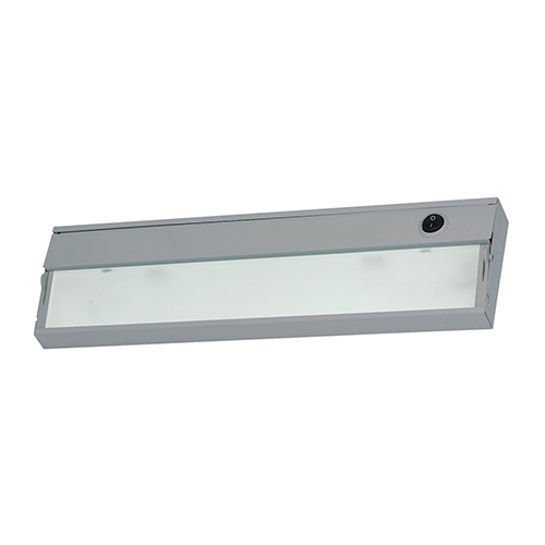 ZeeLite Stainless Steel One-Light LED Under Cabinet