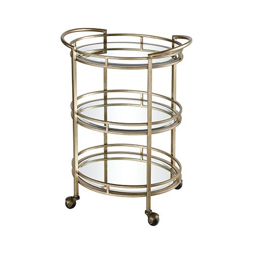 Flourish Gold Bar Cart