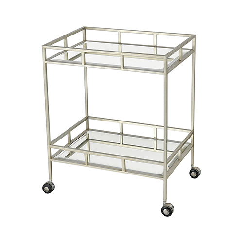 Dimond Home The Nines Nickel Bar Cart