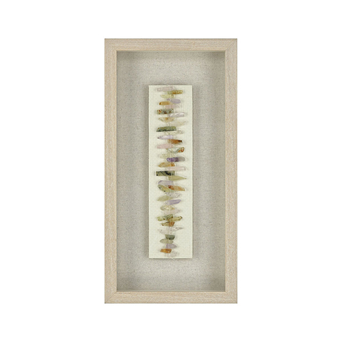 Dimond Home Washed Pine with Natural Linen Wall Art