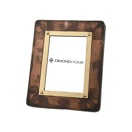 Dimond Home Cassius Antique Copper and Gold 10-Inch Picture Frame