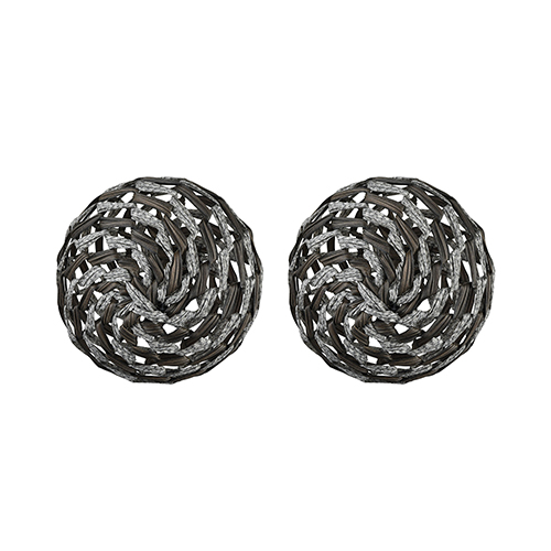 Whoave Grey and Wood Tone Decorative Accessory