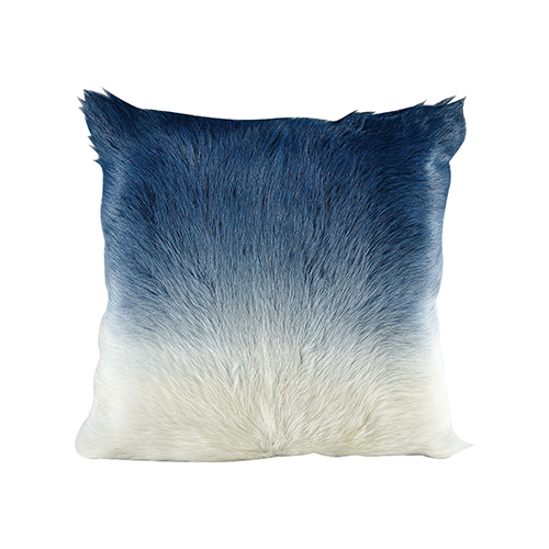 Bareback Pillow Blue Ombre Accent Pillow