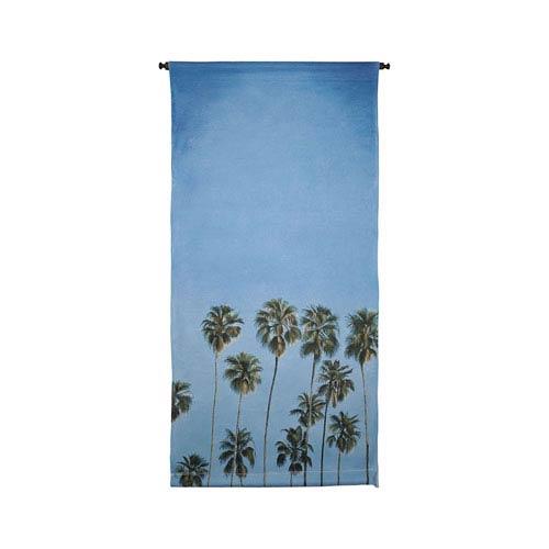 Handpainted Wall Tapestry Heritage Gray California Dreams Tapestry Wall Art