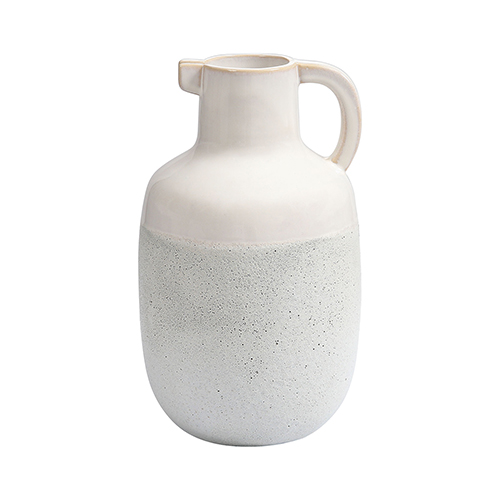 Dimond Home Concord Pitcher Ivory Glaze and Chalk White Pitcher