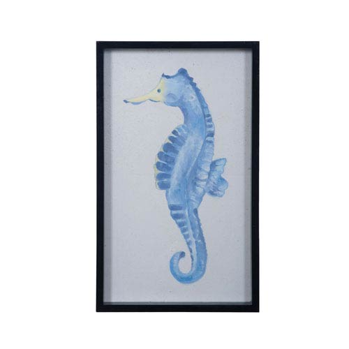 Dimond Home Blue Seahorse Wall Art