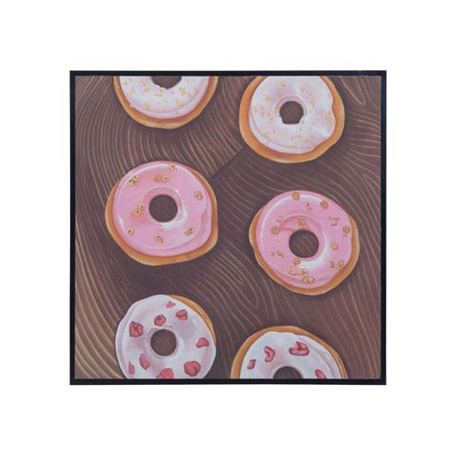 Dimond Home Pink Donuts Wall Art