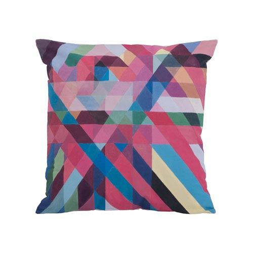Color Ribbons Pillow