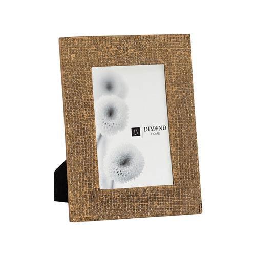Dimond Home Ripple Texture Rose Gold 4x6 Photo Frame