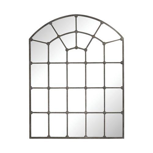 Parisian Loft Aged Iron Window Pane