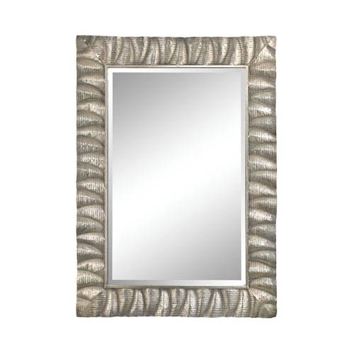 Canal Aged Silver Mirror