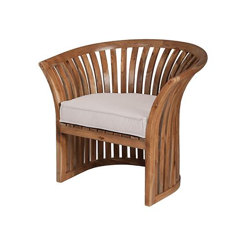 Guildmaster Cream 23 Inch Patio Chair Cushion 2317003co Bellacor