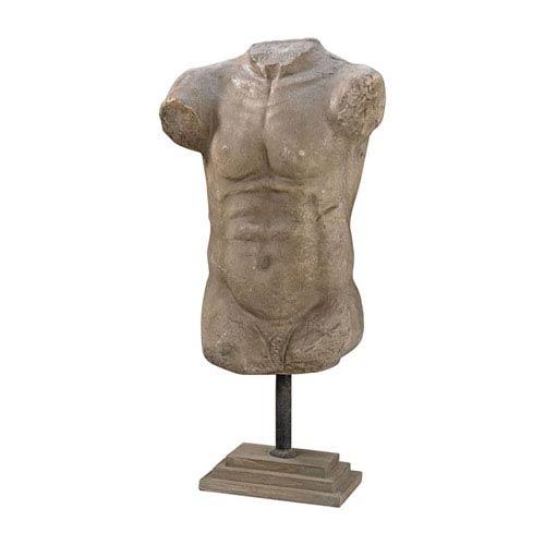 Thorax Aged Stone Decorative Sculpture