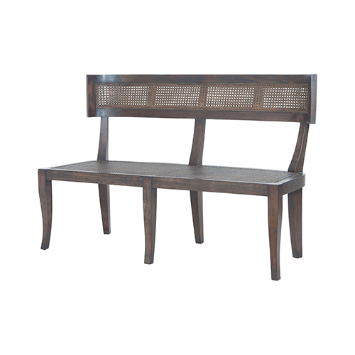 Country Heritage Dark Grey Stain Bench