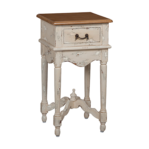 Legacy Cream Side Table