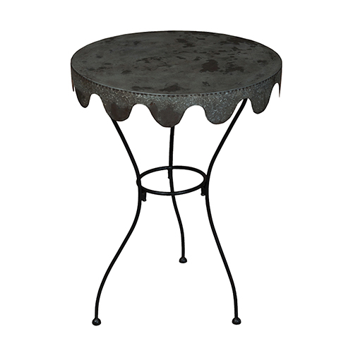 Wine Country Black Side Table