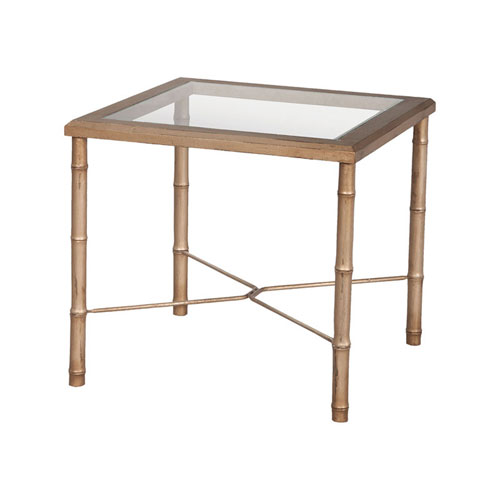 Bamboo Gold Table: Gold Bamboo Furniture