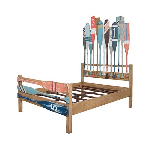 Marina Artisan Stain Queen Bed