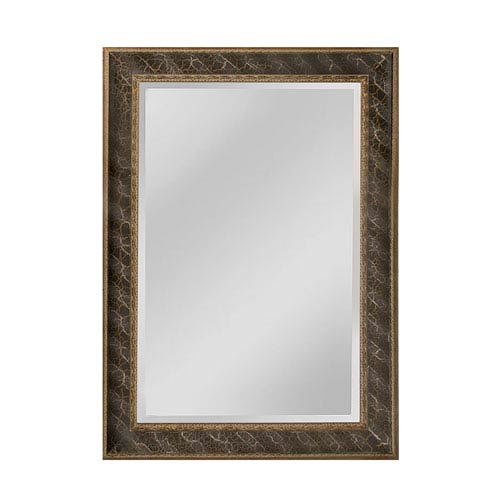 Clearfield Antique Silver and Gold Rectangle Mirror