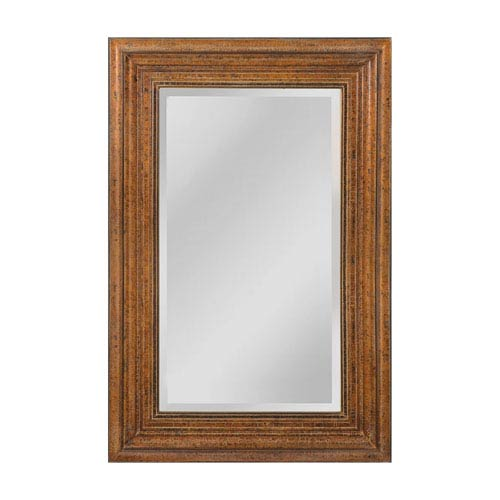 Barnett Crackeled Bronze 35 x 47-Inch Rectangle Mirror