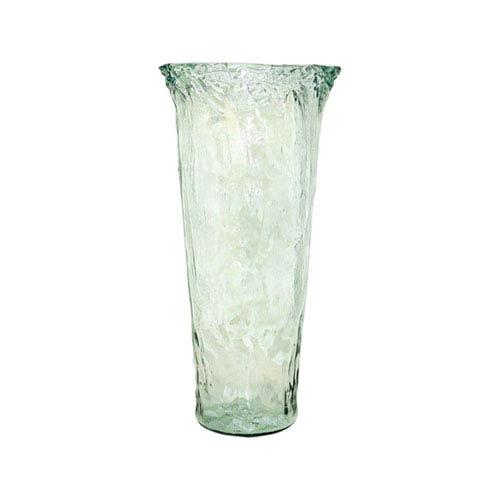 Pomeroy Rhea Recycled Glass Twenty-Inch Vase